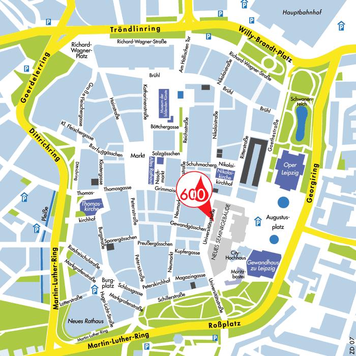 Lageplan Neues Seminargebäude